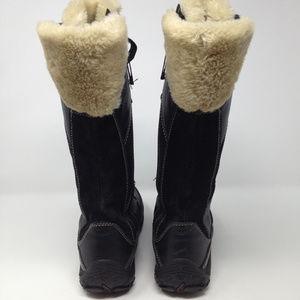 5b7c406716d Merrell Shoes - Merrell Prevoz Black Leather Winter Snow Boots 10
